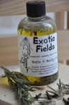 sea grape exotic fields massage oil