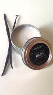 sea grape edible vanilla massage candle