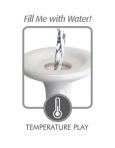 pipedreams ceramix no.3 plug with water