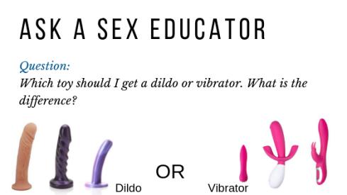 dildo or vibrator
