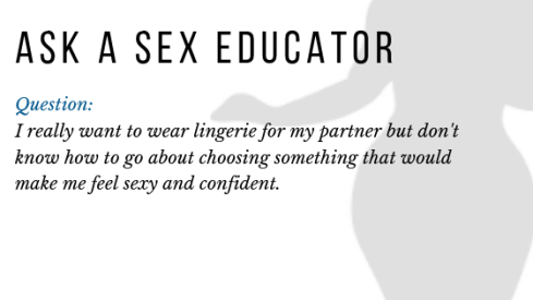 Ask A Sex Educator Lingerie