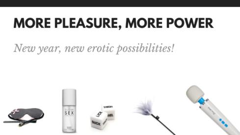 More Pleasure, more power